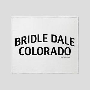 Bridle Dale Colorado Throw Blanket