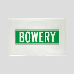 Bowery, New York - USA Rectangle Magnet