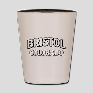 Bristol Colorado Shot Glass