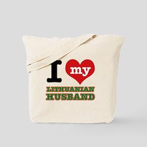I love my Lithuanian Husband Tote Bag