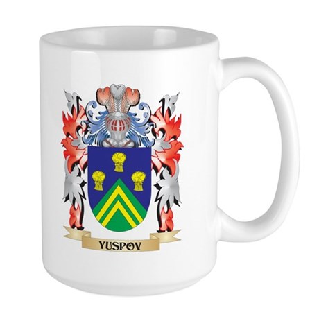 Yuspov Coat of Arms - Family Crest Mugs