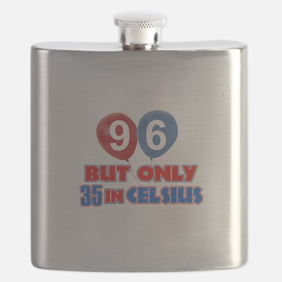 96 year old designs Flask