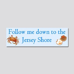 2-Follow me to the Jersey Shore Car Magnet 10