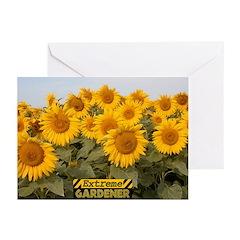 Extreme Gardener Greeting Cards (Pk of 10)