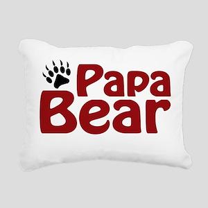 papa bear Rectangular Canvas Pillow