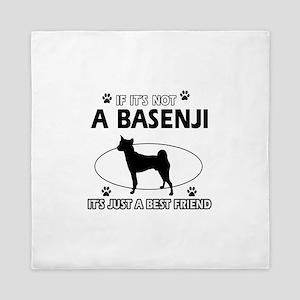 Basenji designs Queen Duvet