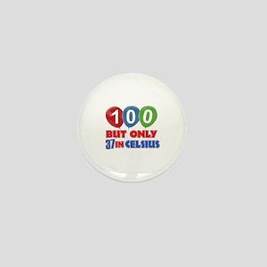 100 year old designs Mini Button