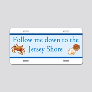 2-Follow me to the Jersey Shore Aluminum Licen