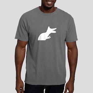 Dino Silhouette Rocko&#3 Mens Comfort Colors Shirt