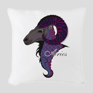 Starlight Aries Woven Throw Pillow
