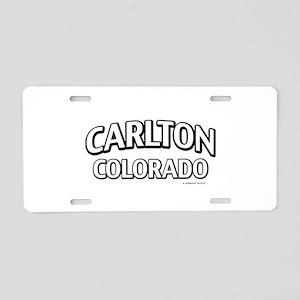 Carlton Colorado Aluminum License Plate