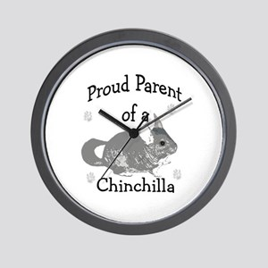Chinchilla Parent Wall Clock
