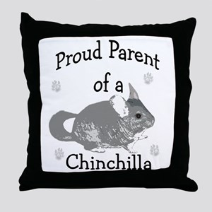 Chinchilla Parent Throw Pillow