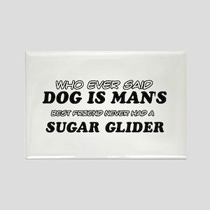 Sugar Glider designs Rectangle Magnet