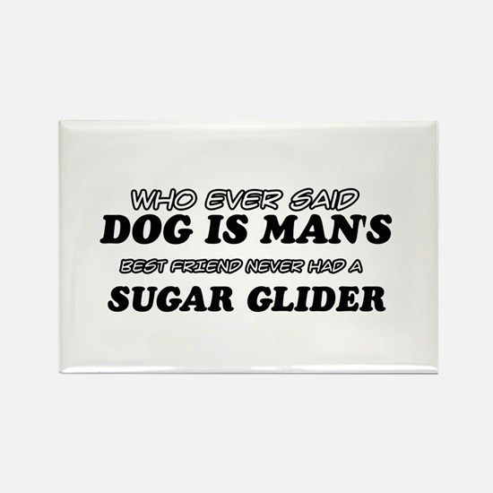Sugar Glider designs Rectangle Magnet