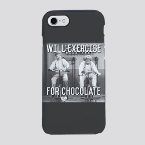 Lucy Ethel Exercise For Chocol iPhone 7 Tough Case