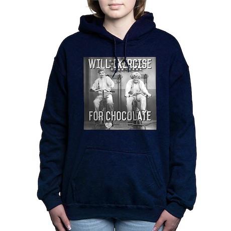 Lucy Ethel Exercise For Women's Hooded Sweatshirt