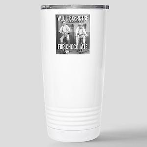 Lucy Ethel Exerci 16 oz Stainless Steel Travel Mug