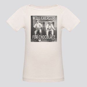 Lucy Ethel Exercise For Choco Organic Baby T-Shirt