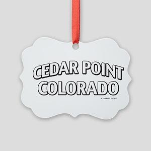 Cedar Point Colorado Ornament