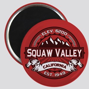 Squaw Valley Red Magnet