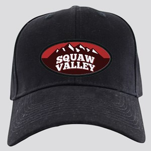 Squaw Valley Red Black Cap