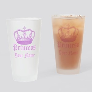 Custom Princess Drinking Glass