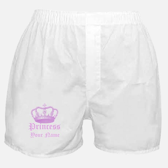 Custom Princess Boxer Shorts