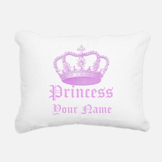 Custom Princess Rectangular Canvas Pillow