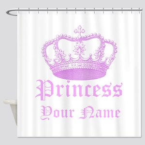 Custom Princess Shower Curtain