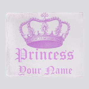 Custom Princess Throw Blanket