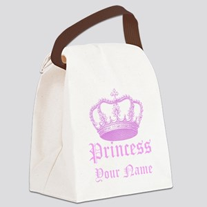 Custom Princess Canvas Lunch Bag