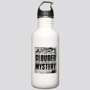 Clouded Podcast Logo Water Bottle