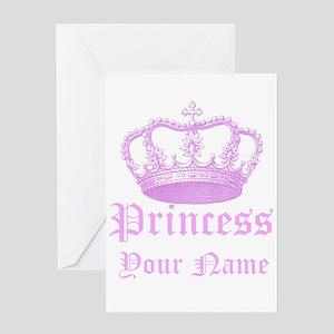 Princess greeting cards cafepress custom princess greeting card m4hsunfo