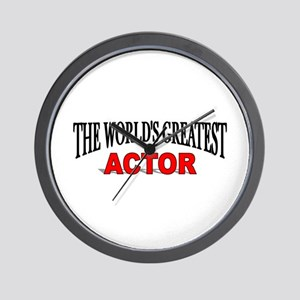 """The World's Greatest Actor"" Wall Clock"
