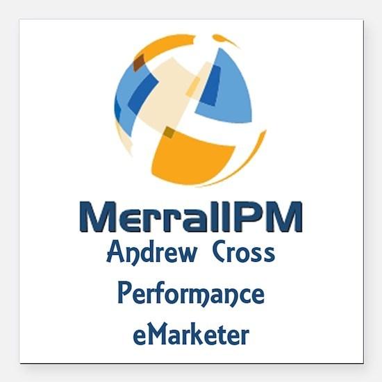 "MPM Square Car Magnet 3"" x 3"""