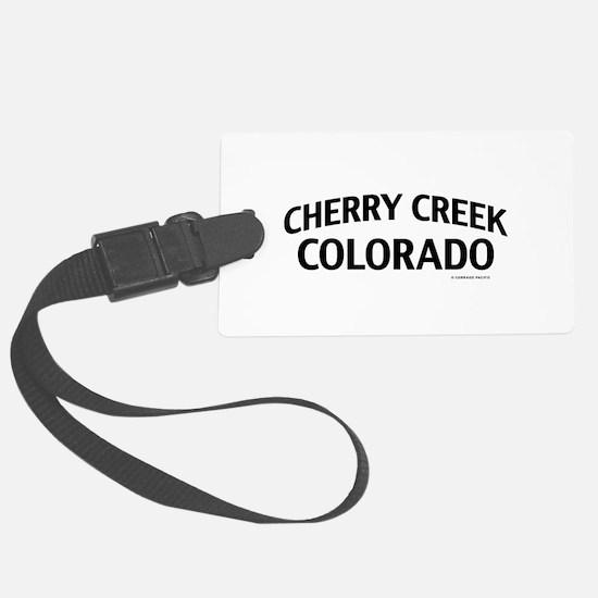 Cherry Creek Colorado Luggage Tag