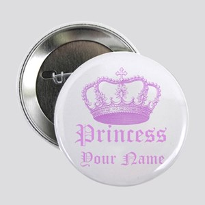 "Custom Princess 2.25"" Button"