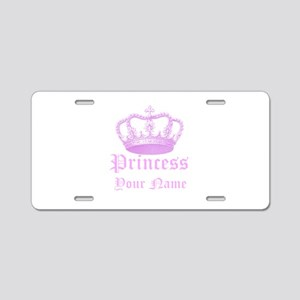 Custom Princess Aluminum License Plate