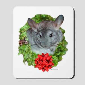 Chinchilla Wreath Mousepad