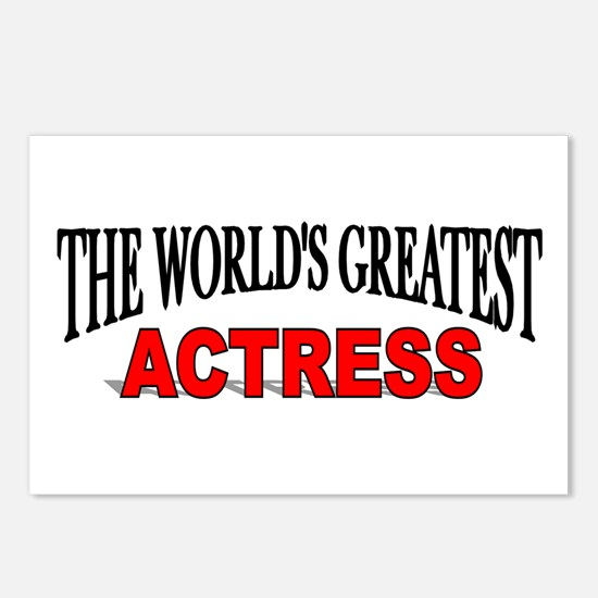 """""""The World's Greatest Actress Postcards (Package o"""