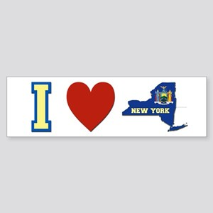 I Love New York Sticker (Bumper)