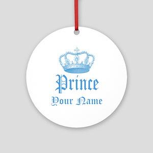 Custom Prince Ornament (Round)