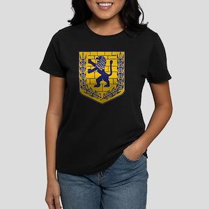 Lion of Judah Gold Women's Dark T-Shirt