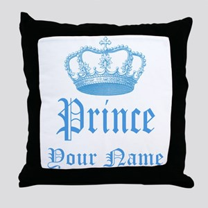 Custom Prince Throw Pillow