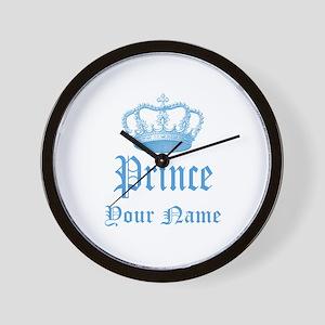 Custom Prince Wall Clock