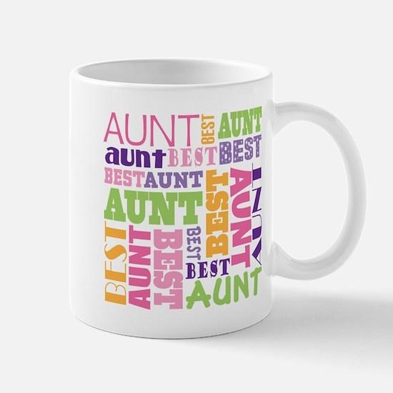 Best Aunt Design Gift Mug