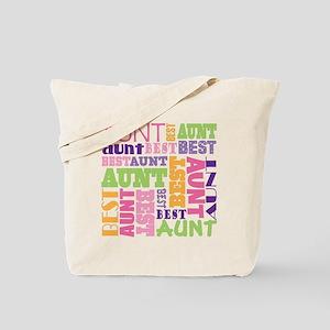 Best Aunt Design Gift Tote Bag