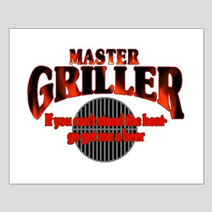 Master Griller Small Poster