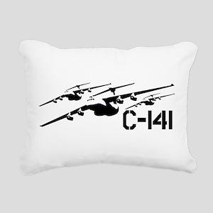 C-141 Cell Rectangular Canvas Pillow